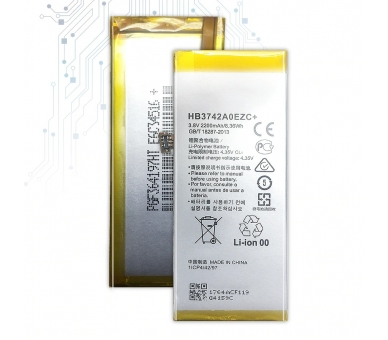 Bateria para Huawei Ascend P8 Lite ALE-L21, MPN Original: HB3742A0EZC ARREGLATELO - 3