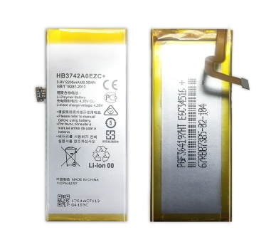 Battery For Huawei P8 Lite , Part Number: HB3742A0EZC ARREGLATELO - 4