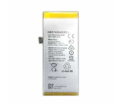 Battery For Huawei P8 Lite , Part Number: HB3742A0EZC ARREGLATELO - 5