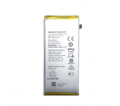 Bateria para Huawei Ascend P8 GRA-L09, MPN ORIGINAL: HB3447A9EBW ARREGLATELO - 4
