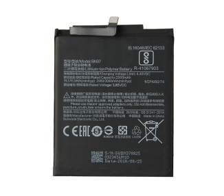 Bateria para Xiaomi Redmi 6, Redmi 6A, MPN Original: BN37 ARREGLATELO - 2