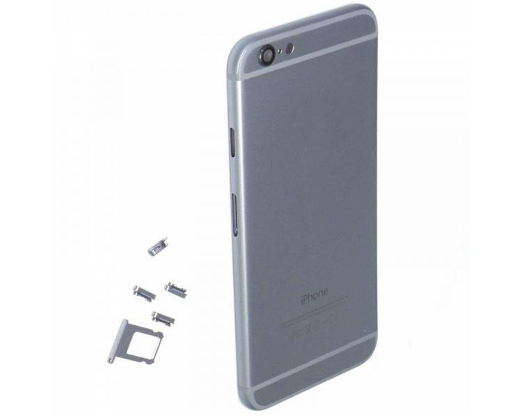 Chassis Behuizing voor iPhone 6 Space Grey  - 1