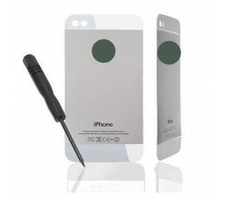 Tylna obudowa do iPhone 4, biała, biała, konwersja do iPhone'a 5
