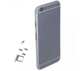 Obudowa dla Iphone 6 Plus 6+ Tray + Przyciski + Komponenty + Flex Grey