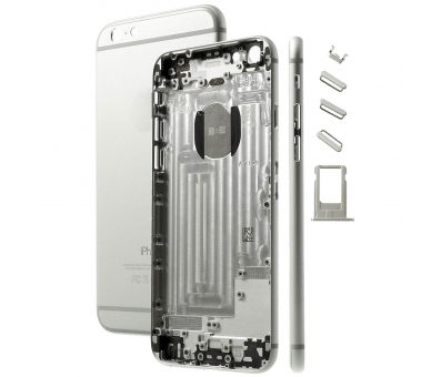 Chasis for iPhone 6 Plus & Components | Color Silver ARREGLATELO - 1