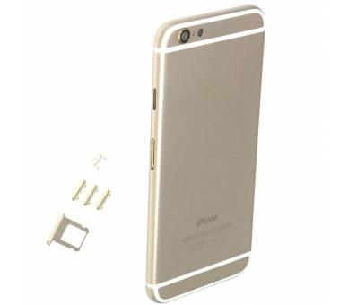 Chasis Carcasa para Iphone 6 Plus 6+ Bandeja + Botones + Componentes + Flex Dorado Apple - 1