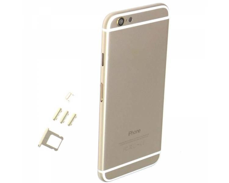 Chassis Behuizing voor Iphone 6 Plus 6+ met Knoppen Componenten Flex Goud ARREGLATELO - 1