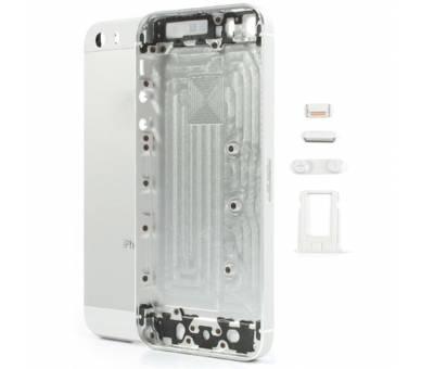 Volledig chassis voor iPhone 5S Wit Zilver  - 1