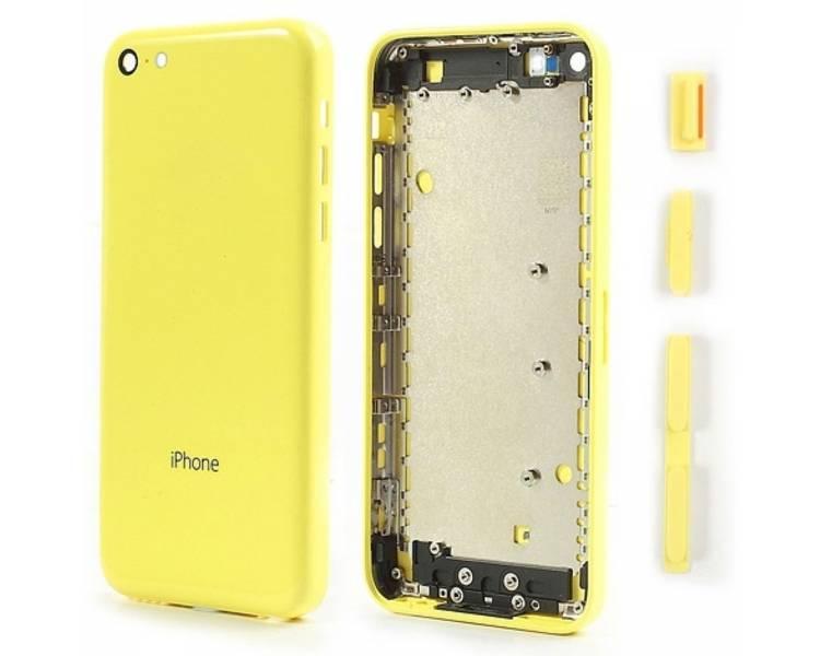 Chasis Carcasa para iPhone 5C Amarillo  - 1
