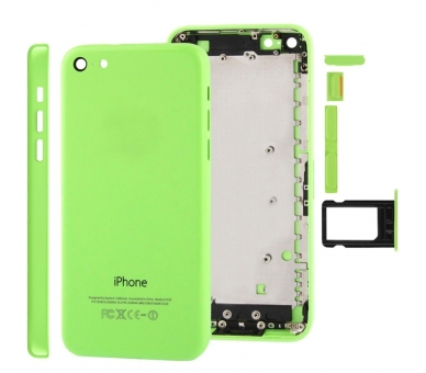 Chasis Carcasa para iPhone 5C Verde  - 1