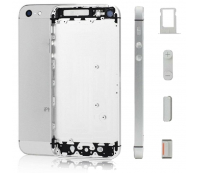 Chasis | iPhone 5C | Color Plata  - 1