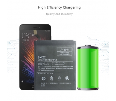 Battery For Xiaomi Mi 5 , Part Number: BM22 ARREGLATELO - 7