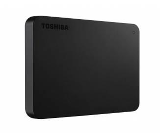 Toshiba Canvio Basics Disco Duro Externo 1TB 2TB 4TB USB 3.0 Compatible con 2.0 3.1 ,Windows 7/8.1/10 Mac OS, Negro