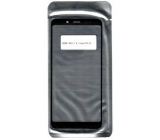Cristal Tactil Lente Vidrio Frontal Pantalla Para Xiaomi Redmi Note 5 / 5 Pro Negro