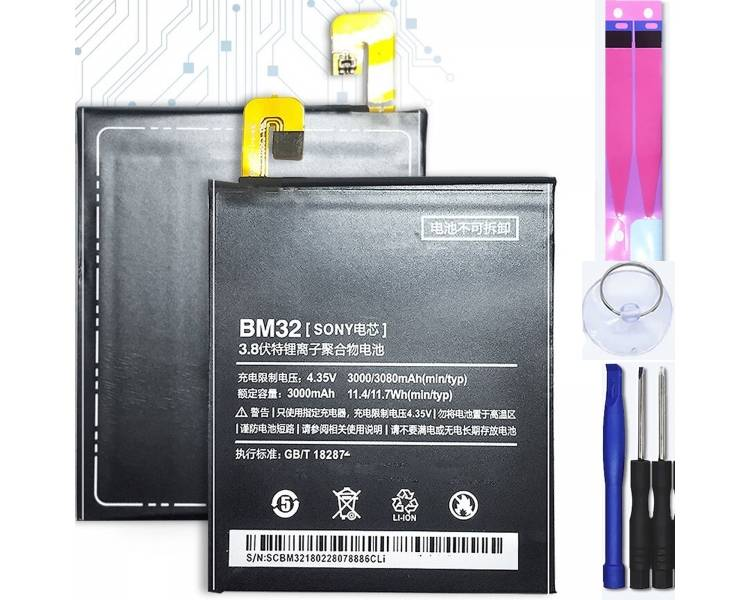 Bateria para Xiaomi Mi4 Mi 4, MPN Original: BM32 ARREGLATELO - 1
