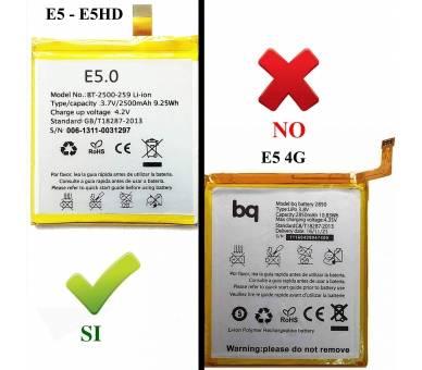 Battery For BQ E5HD BQ - 2