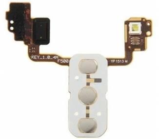 Flex de Botones Traseros Volumen Encendido Flash para LG Optimus G4 H815 F500