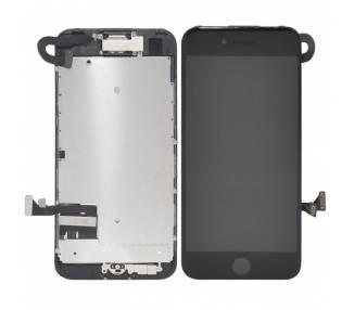 Pantalla Completa para iPhone 7 con Sensores y Boton Negro - OEM ARREGLATELO - 1
