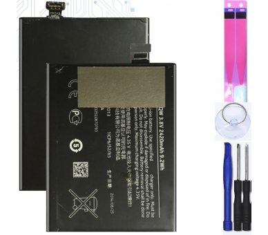 Battery For Nokia lumia 930 , Part Number: BV-5QW ARREGLATELO - 1