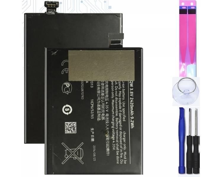Batterij voor Nokia LUMIA 930, 929+, 929, Origineel MPN: BV-5QW ARREGLATELO - 1