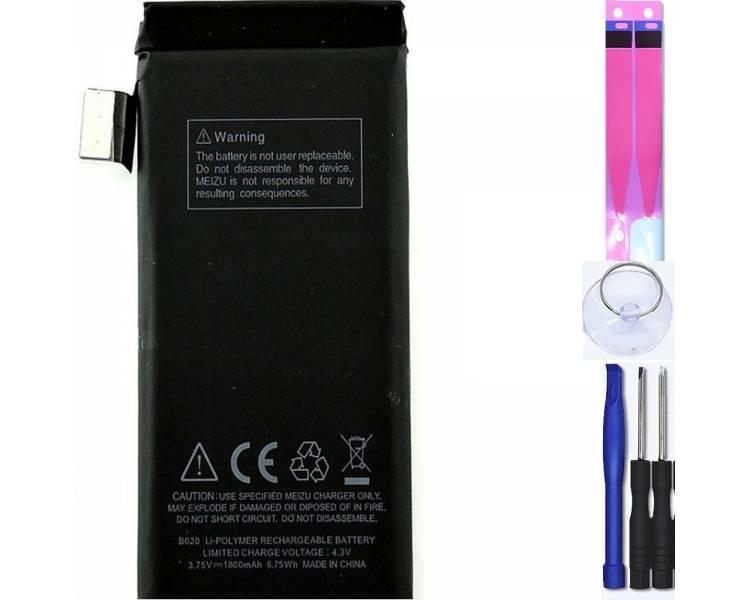 Battery For Meizu MX2 , Part Number: B020 ARREGLATELO - 1
