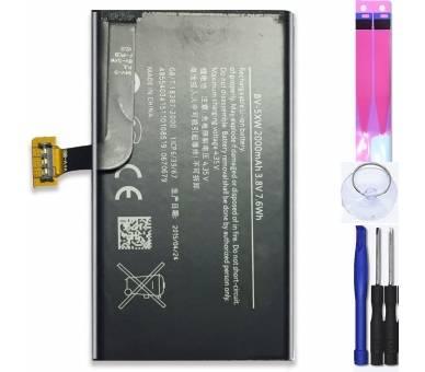 Batterij voor Nokia LUMIA 1020, 909, Origineel MPN: BV-5XW  - 1