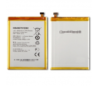 Bateria do telefonu Huawei Ascend Mate MT1-U06, MPN Original HB496791EBC