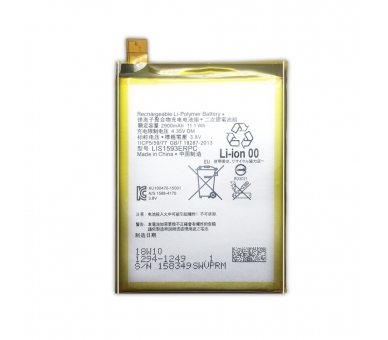 Battery For Sony Z5 Dual Sim , Part Number: LIS1593ERPC ARREGLATELO - 5