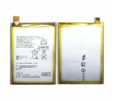 Battery For Sony Z5 Dual Sim , Part Number: LIS1593ERPC ARREGLATELO - 8