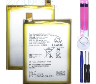 Battery For Sony Z5 Dual Sim , Part Number: LIS1593ERPC ARREGLATELO - 1