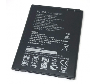 Battery For LG V10 , Part Number: BL-45B1F