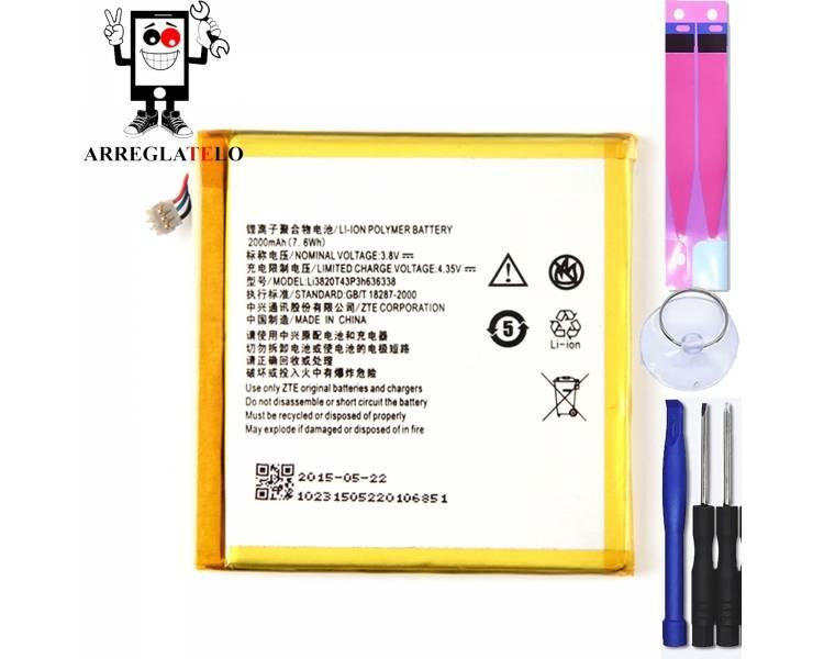 Batterij voor ZTE BLADE L2, MPN Origineel LI3820T43P3H636338 ARREGLATELO - 1