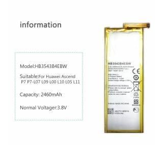 Oryginalna Bateria Huawei HB3543B4EBW do Huawei Ascend P7 Oryginalna P7