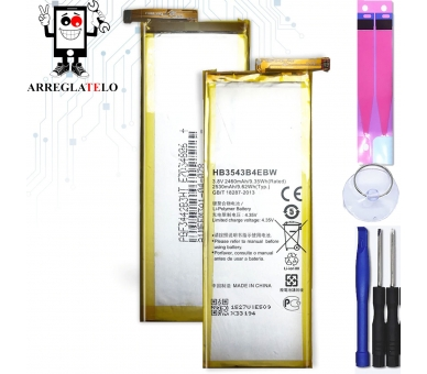 Battery For Huawei P7 , Part Number: HB3543B4EBW  - 1