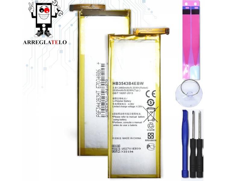Originele Huawei HB3543B4EBW Batterij voor Huawei Ascend P7 originele P7  - 1