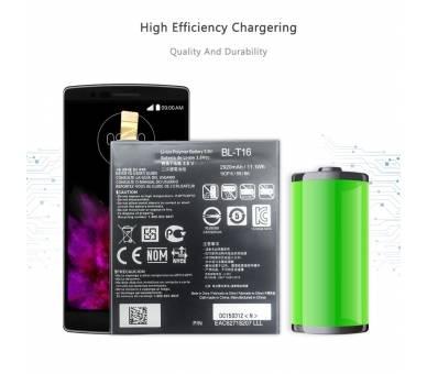 Bateria Original para LG FLEX 2 H955 - BL-T16 LS996 H950 ARREGLATELO - 4