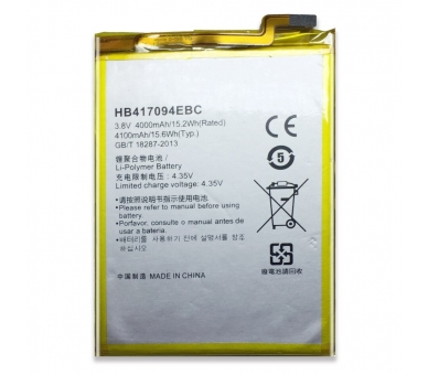 Batterij voor Huawei Ascend Mate 7, MPN Origineel HB417094EBC ARREGLATELO - 2