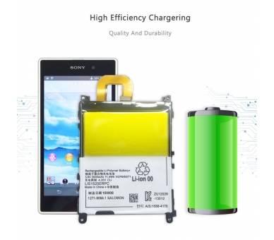 Batterij Voor Sony Xperia Z1 L39H C6902 C6903 C6906, MPN Origineel LIS1525ERPC ARREGLATELO - 4