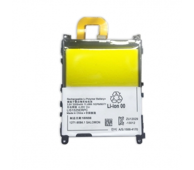 Battery For Sony Xperia Z1 , Part Number: 1271-9084 ARREGLATELO - 2