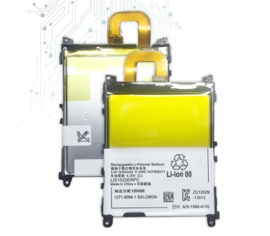 Battery For Sony Xperia Z1 , Part Number: 1271-9084 ARREGLATELO - 6