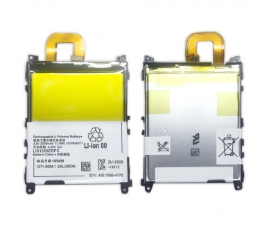 Battery For Sony Xperia Z1 , Part Number: 1271-9084 ARREGLATELO - 8