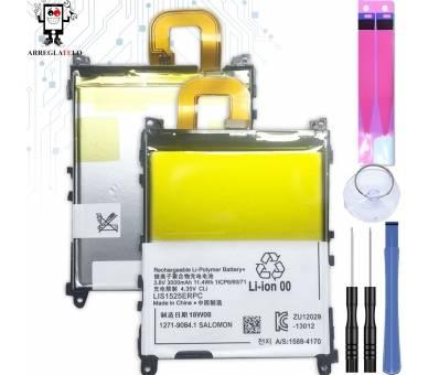 Batterij Voor Sony Xperia Z1 L39H C6902 C6903 C6906, MPN Origineel LIS1525ERPC ARREGLATELO - 1