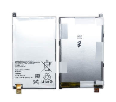 Battery For Sony Z1 Compact , Part Number: LIS1529ERPC ARREGLATELO - 7