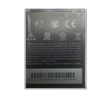Batterij voor HTC MyTouch 4G HD Merge s610D, Origineel MPN BD42100 ARREGLATELO - 4