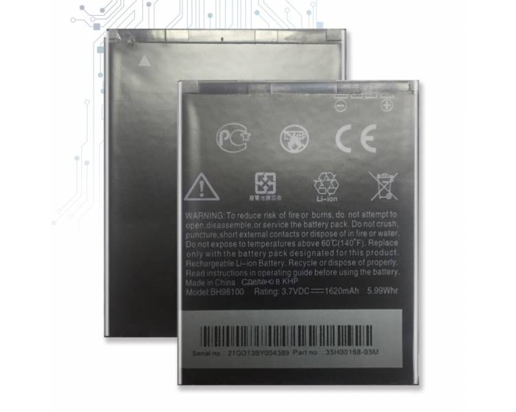 Battery For HTC Mytouch , Part Number: BD42100 ARREGLATELO - 1