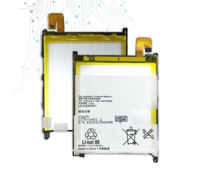 Batterij voor Sony XPERIA Z ULTRA C6802 XL39h, MPN Origineel LIS1520ERPC ARREGLATELO - 2