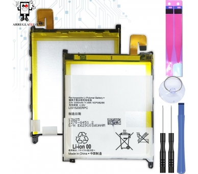Bateria para Sony XPERIA Z ULTRA C6802 XL39h, MPN Original LIS1520ERPC ARREGLATELO - 1