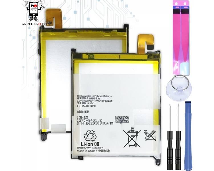 Batterij voor Sony XPERIA Z ULTRA C6802 XL39h, MPN Origineel LIS1520ERPC ARREGLATELO - 1