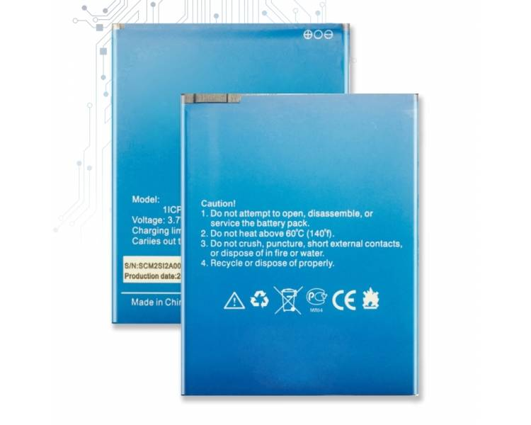 Bateria para ELEPHONE P6000 - Capacidad Original ARREGLATELO - 1