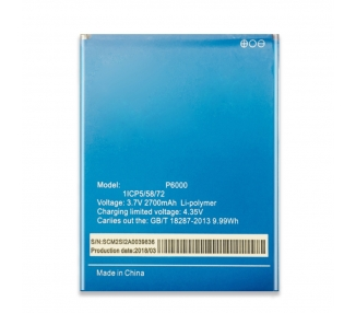 Bateria do telefonu ELEPHONE P6000 - oryginalna pojemność